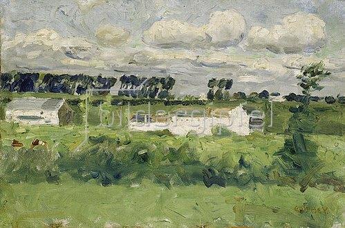 Walter Ophey: Buschberg bei Kettenis. Um 1902