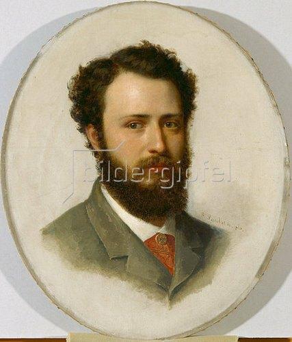Fritz Paulsen: Bildnis Themistokles von Eckenbrecher. 1866