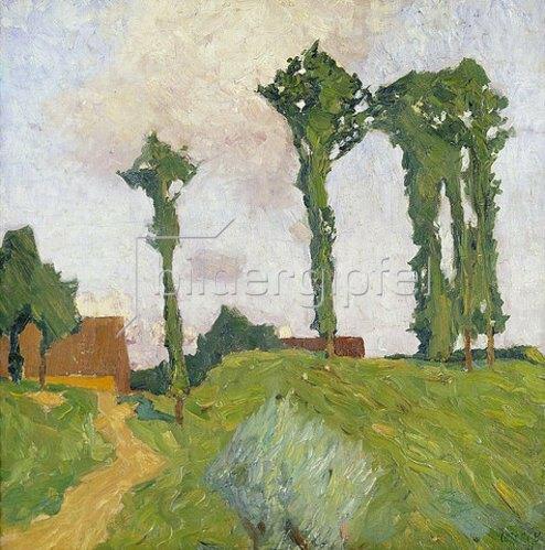 Walter Ophey: Niederkassel II. 1905-1906