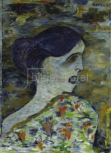 Walter Ophey: Schreiendes Mädchen. 1919