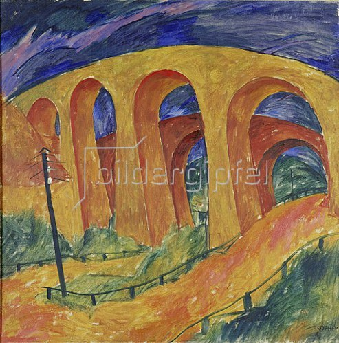 Walter Ophey: Brücken bei Monschau. 1921