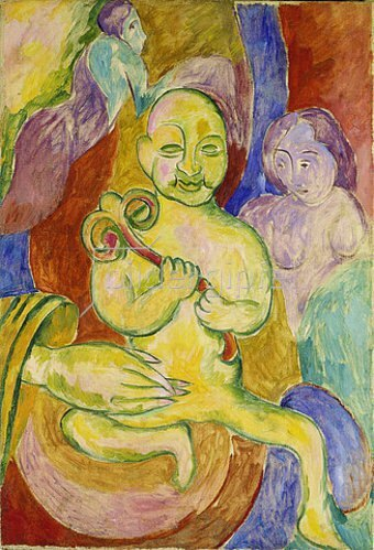 Walter Ophey: Junger Buddha. Um 1925