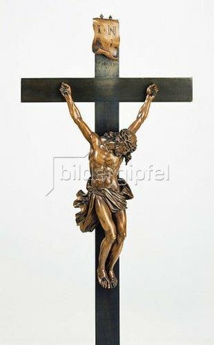 Gabriel Grupello: Kruzifixus. Um 1700
