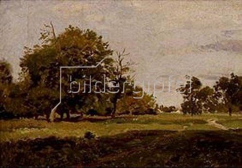 Philipp Röth: Landschaft im September bei Bruck.