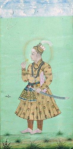 Indien: Miniatur. Um 1660