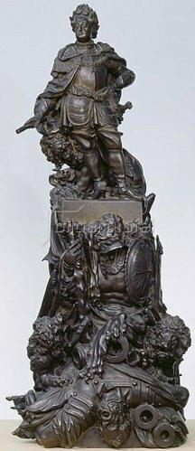 Gabriel Grupello: Kurfürst Johann Wilhelm. Vor 1708
