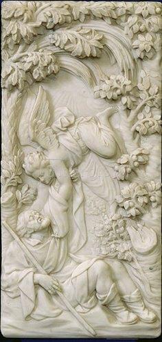 Gabriel Grupello: Der Traum des heiligen Joseph. Vor 1711
