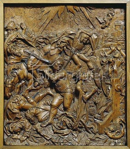 Süddeutsch: Martyrium der heiligen Katharina von Alexandrien. Erstes Viertel des 16. Jh.