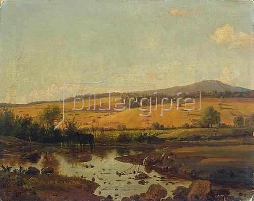 Louis Gurlitt: Holsteinische Landschaft.