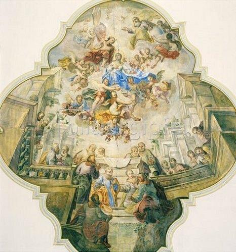 Christoph Klausner: Aufnahme Mariens in den Himmel. 1774