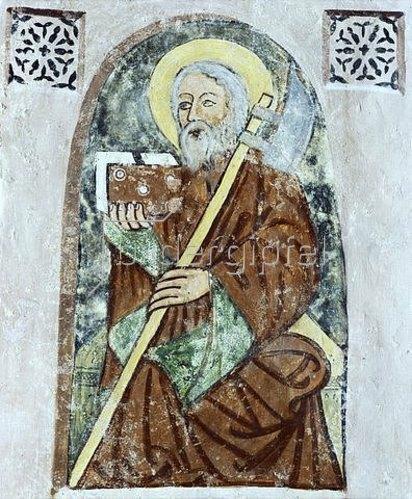 Unbekannter Künstler: Hl. Matthias. Um 1380