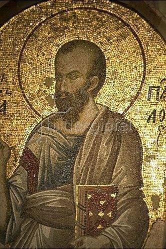 Byzantinisch: Der Heilige Paulus. 1315-1321
