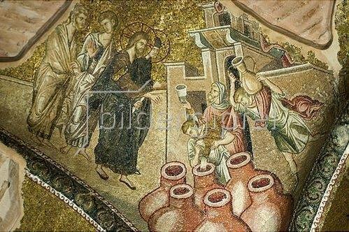 Byzantinisch: Die Hochzeit von Kanaan. 1315-1321