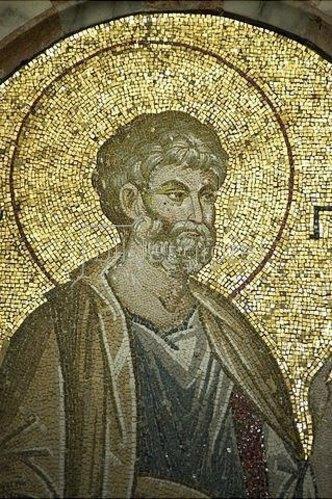 Byzantinisch: Der Heilige Petrus. 1315-1321