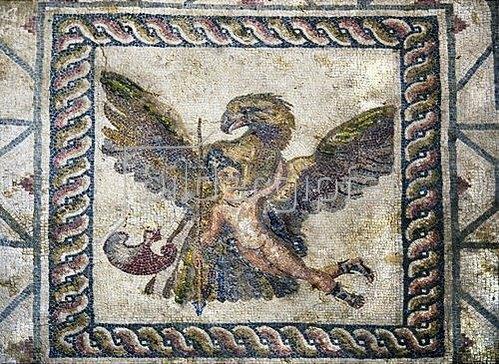Griechisch: Die Entführung des Ganymed. Um 200 n. Chr.