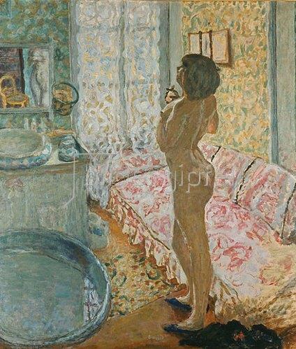 Pierre Bonnard: Akt im Gegenlicht. 1908