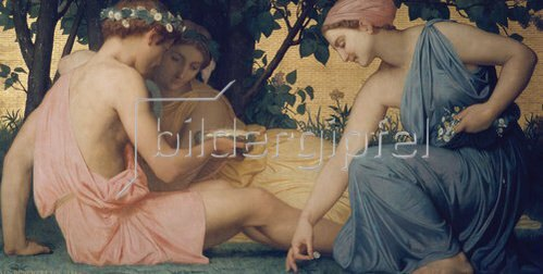 William Adolphe Bouguereau: Le Printemps. 1858.