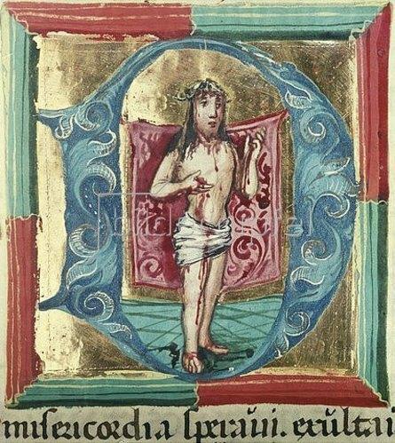 Unbekannter Künstler: Schmerzensmann. Um 1490