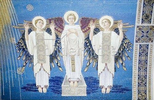 Unbekannter Künstler: Auferstehung Christi. 1924