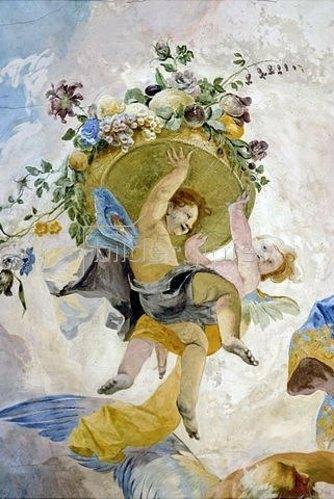 Franz Anton Maulbertsch: Allegorie der Zeit und des Lichtes. 1765