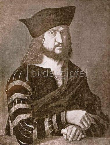 Albrecht Dürer: Friedrich III. der Weise, Kurfürst von Sachsen (1463-1525).