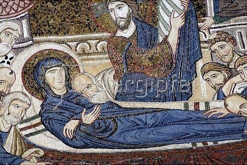 Byzantinisch: Tod Mariae.