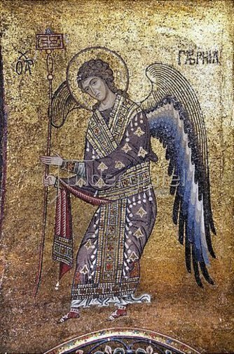 Byzantinisch: Erzengel Gabriel.