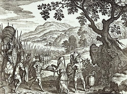 Matthäus Merian d.Ä.: Abraham und Melchisedech. Um 1625