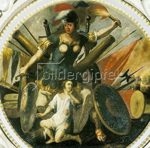 Unbekannter Künstler: Krieg. Um 1690
