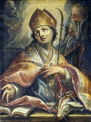 Unbekannter Künstler: St. Benno von Meißen.