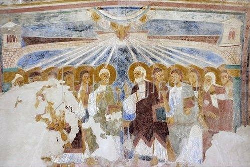 Pfingsszene. 1130-40