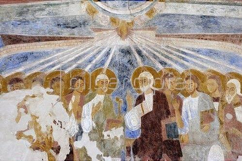 Pfingstszene. 1130-40