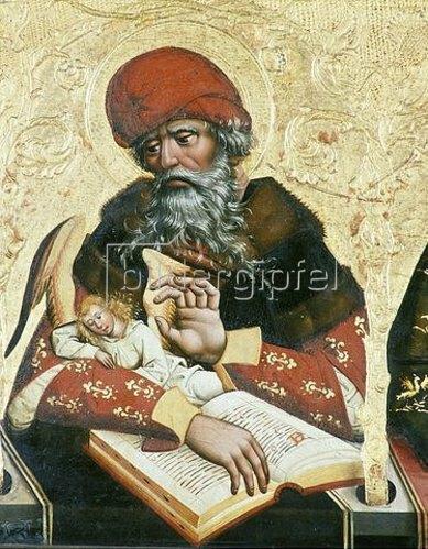 Jan Polack: Evangelist Matthäus. Um 1490