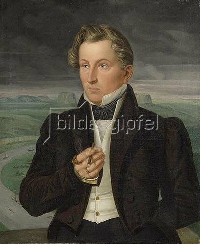 Wilhelm von Kügelgen: Portrait des Seidenhändlers Johann Carl Gottlob Schneider.