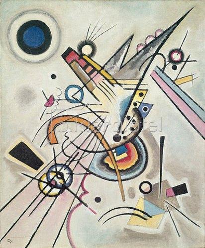 Wassily Kandinsky: Diagonale. 1923.