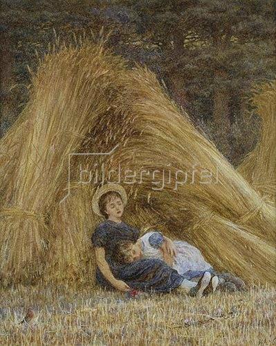 Helen Allingham: Nach getaner Arbeit. 1876