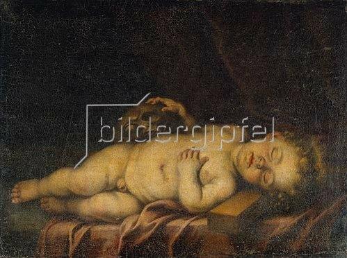 Bartolomé Estéban Murillo: Das schlafende Christuskind.