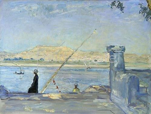 Max Slevogt: Morgen bei Luxor. 1914