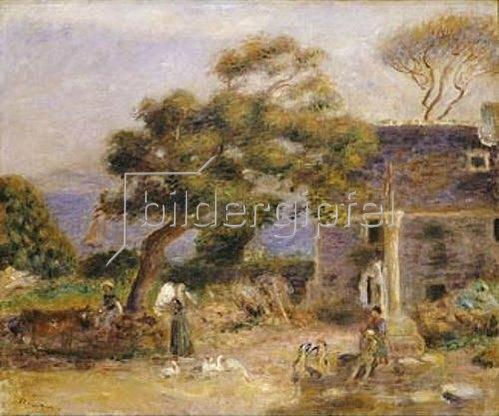 Auguste Renoir: Blick auf Treboul. Um 1895
