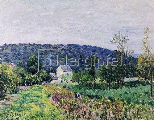 Alfred Sisley: In der Umgebung von Paris. 1879