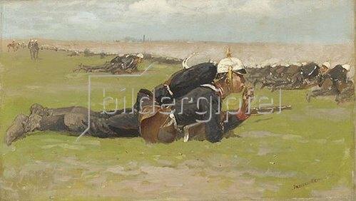 Frederic Remington: Feldübung für die Preussische Infanterie.