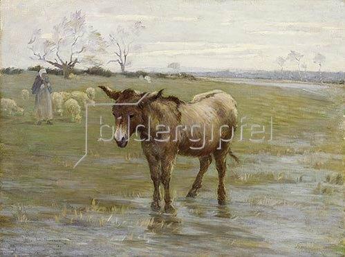 Henri Le Sidaner: Der Esel.  1891