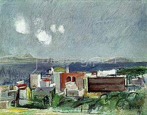 Rudolf Levy: Südliche Landschaft. 1938.