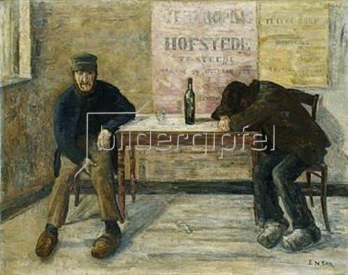 James Ensor: Les Pochards. 1910