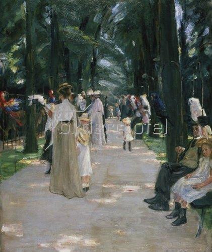Max Liebermann: Papageienallee. 1902