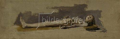 Albert von Keller: Studie einer weiblichen Leiche. 1885