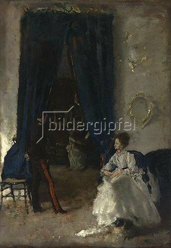 Albert von Keller: Musikalische Unterhaltung. Um 1871