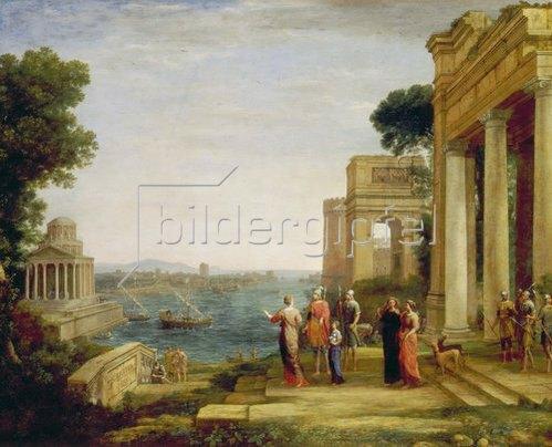 Claude Lorrain (Gellée): Dido und Aeneas. 1675/1676.