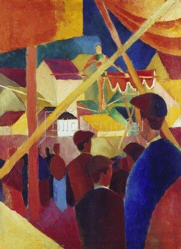 August Macke: Seiltänzer. 1914