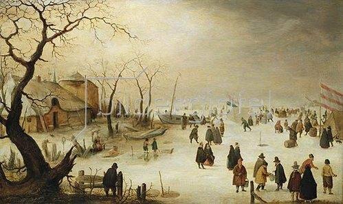 Hendrick Avercamp: Wintervergnügen.